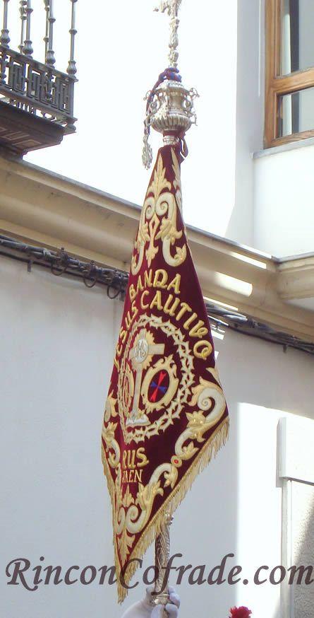 Banderín de la Banda de Cornetas y Tambores de Rus (Jaén)