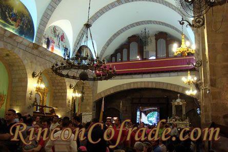 Vista del Interior del Santuario de Nuestra Señora de la Cabeza