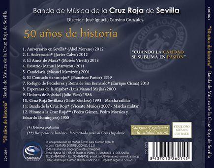 Banda de Música de la Cruz Roja de Sevilla - 50 años de historia