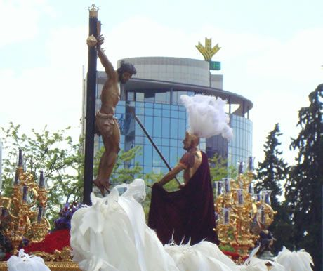 Santísimo Cristo de la Lanzada a la Salida - Granada