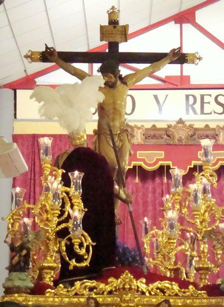 Imagen del Santísimo Cristo de la Lanzada - Granada