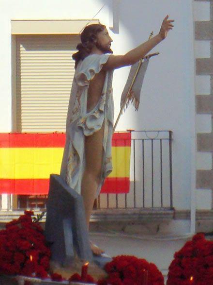 Imagen del Santísimo Cristo Resucitado de Jamilena (Jaén)