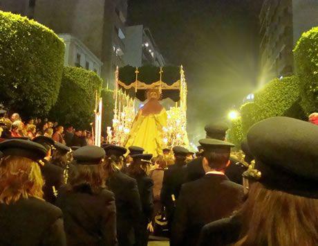 Macarena en Paseo de Almería - Carrera Oficial