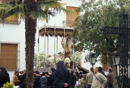 Palio de la Virgen de las Angustias de Torredonjimeno en la Plaza de Cobos