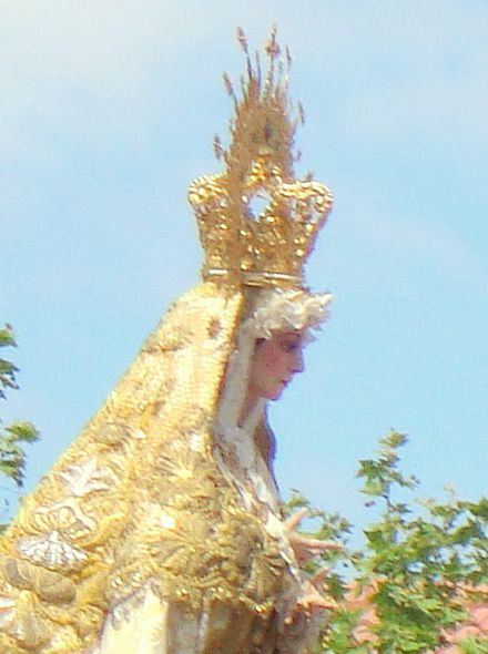 Imagen de la Virgen de la Natividad de Jamilena