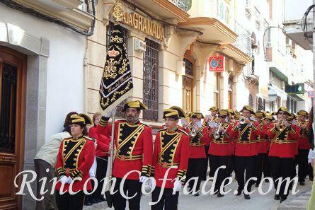 Agrupación Musical Nuestra Señora del Rosario de Crevillente (Alicante) el Domingo de Ramos en Torredonjimeno (Jaén)