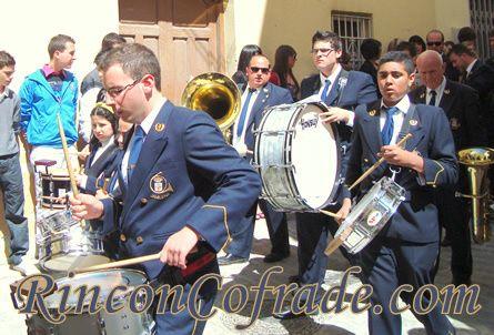 Banda de Música Miguel Ángel Colmenero de Jamilena (Jaén) acompañando a Nuestro Padre Jesús de Torredonjimeno