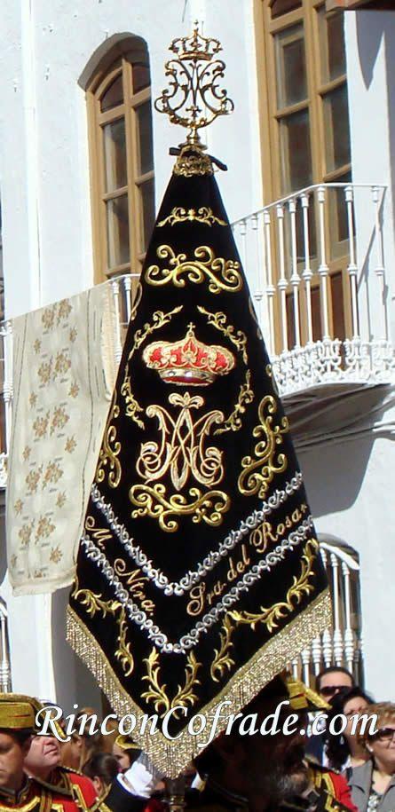 Banderín de la Agrupación Musical Nuestra Señora del Rosario - Crevillente (Alicante)