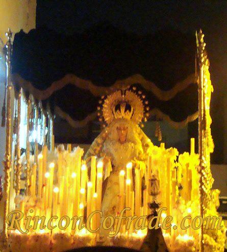 Imagen de la Virgen Macarena de Almería