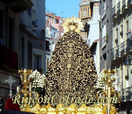 Manto de la Virgen de Viñeros - Málaga