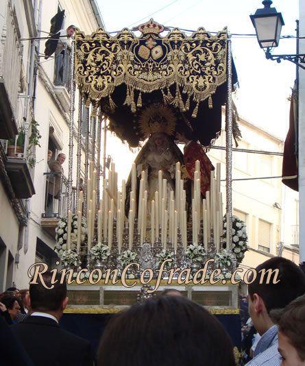 Paso de la Virgen de los Desamparados y San Juan Evangelista - Martos