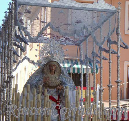 Paso de Palio Virgen de la Paz - Torredonjimeno