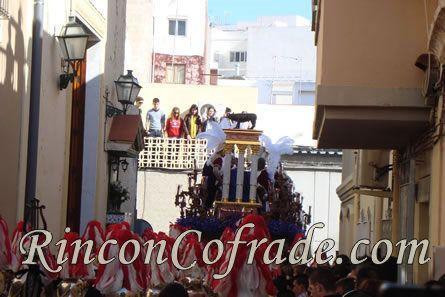 Otra vista del Paso del Cristo de la Sentencia de Almería