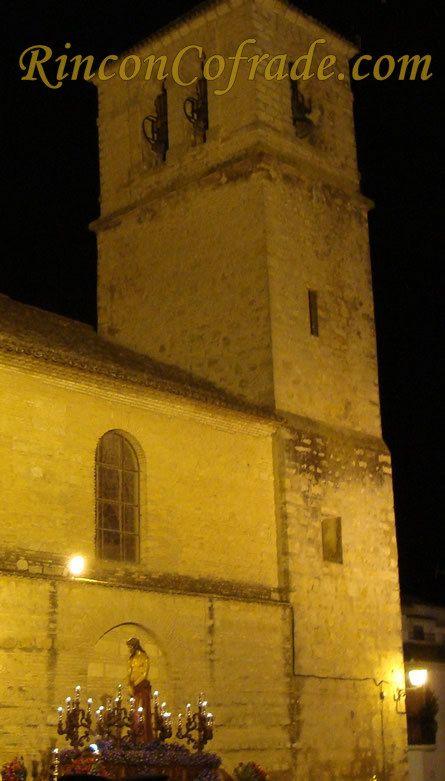 Jesús Preso de Torredonjimeno, de Fondo Iglesia de San Pedro