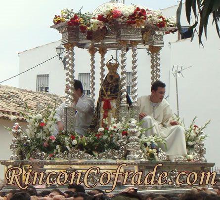 Virgen de la Cabeza en Romería