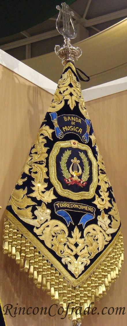 Banderín de la Banda de Música de Torredonjimeno