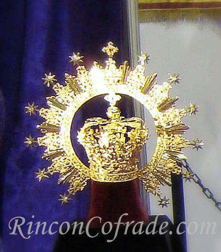 Corona de la Virgen de la Soledad de Jaén