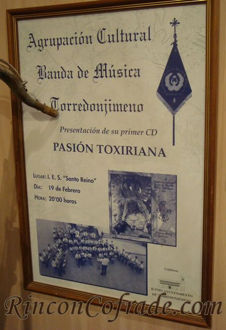 Pasión Tosiriana - Primer Trabajo Discográfico de la Banda de Música de Torredonjimeno Presenta en 1999