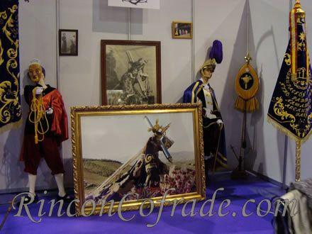 Stand de la Agrupación Musical Nuestro Padre Jesús Nazareno de Alcaudete en Arcoan 2010