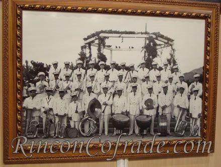 Foto de la Banda de Música de Torredonjimeno hace algunas décadas