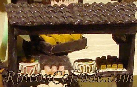 Reproducción de Dulces en el Belén de Chocolate