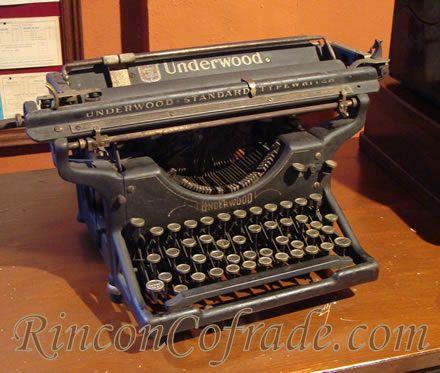 Máquina de escribir - Underwood