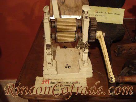 Máquina manual para caramelos