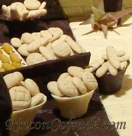 Panes en el Belén de Chocolate