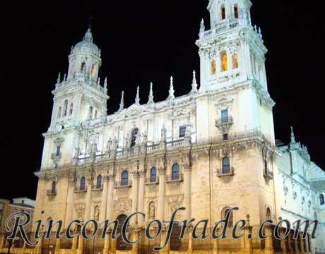 Catedral de Jaén el pasado 17 de Abril Domingo de Ramos