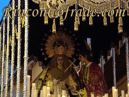 Virgen de los Desamparados - Domingo de Ramos 2011 - Martos