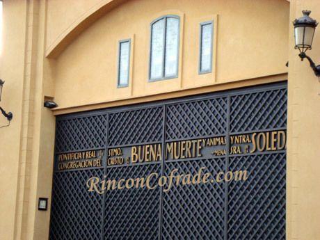 Casa de Hermandad del Cristo de la Buena Muerte y Soledad de Mena - Málaga