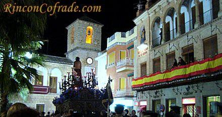 Plaza de la Constitución - Torredonjimeno - Paso de Jesús Preso