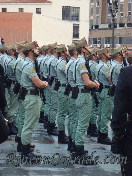 La Legión en la Hermandad de Mena - Málaga
