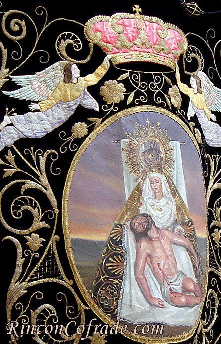 Virgen de las Angustias de Torredonjimeno - Estandarte
