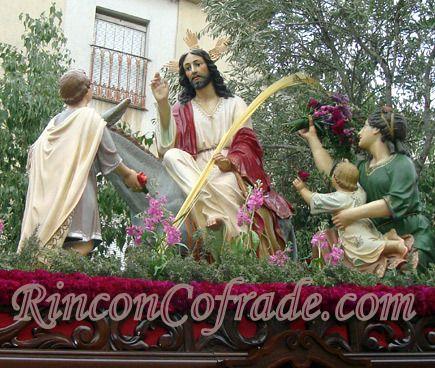 Nuestro Padre Jesús en su Entrada en Jerusalén - Martos