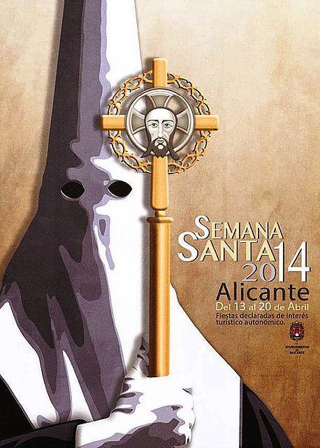 Cartel Semana Santa Alicante 2014